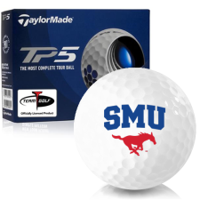 Taylor Made TP5 SMU Mustangs Golf Balls