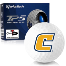 Taylor Made TP5 Tennessee Chattanooga Mocs Golf Balls