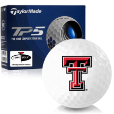 Taylor Made TP5 Texas Tech Red Raiders Golf Balls