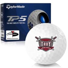 Taylor Made TP5 Troy Trojans Golf Balls