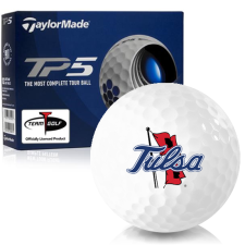Taylor Made TP5 Tulsa Golden Hurricane Golf Balls