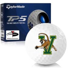 Taylor Made TP5 Vermont Catamounts Golf Balls