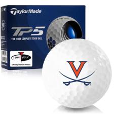 Taylor Made TP5 Virginia Cavaliers Golf Balls