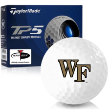 Taylor Made TP5 Wake Forest Demon Deacons Golf Balls