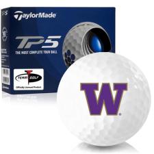 Taylor Made TP5 Washington Huskies Golf Balls
