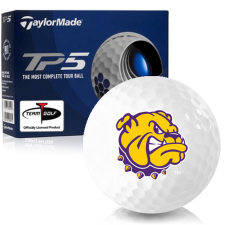 Taylor Made TP5 Western Illinois Leathernecks Golf Balls