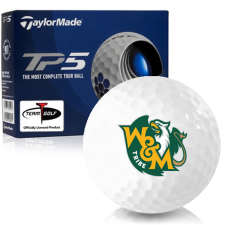 Taylor Made TP5 William & Mary Tribe Golf Balls