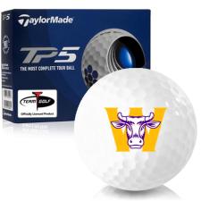 Taylor Made TP5 Williams College Ephs Golf Balls
