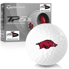 Taylor Made TP5x Arkansas Razorbacks Golf Balls