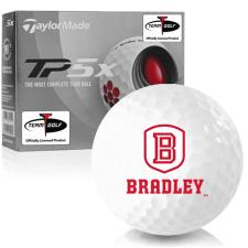 Taylor Made TP5x Bradley Braves Golf Balls