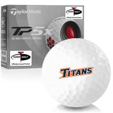 Taylor Made TP5x Cal State Fullerton Titans Golf Balls