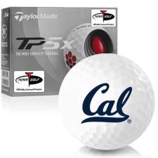 Taylor Made TP5x California Golden Bears Golf Balls
