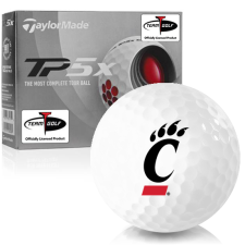Taylor Made TP5x Cincinnati Bearcats Golf Balls