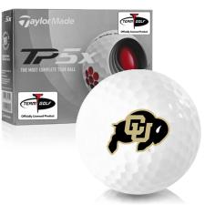 Taylor Made TP5x Colorado Buffaloes Golf Balls