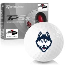 Taylor Made TP5x UConn Huskies Golf Balls