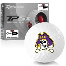 Taylor Made TP5x East Carolina Pirates Golf Balls