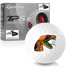 Taylor Made TP5x Florida A&M Rattlers Golf Balls