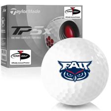 Taylor Made TP5x Florida Atlantic Owls Golf Balls