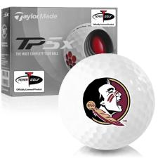 Taylor Made TP5x Florida State Seminoles Golf Balls