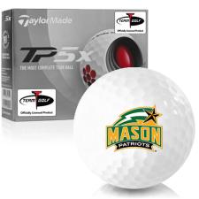 Taylor Made TP5x George Mason Patriots Golf Balls