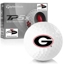 Taylor Made TP5x Georgia Bulldogs Golf Balls
