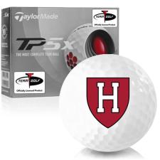 Taylor Made TP5x Harvard Crimson Golf Balls