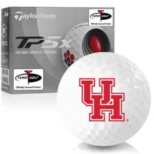 Taylor Made TP5x Houston Cougars Golf Balls