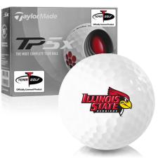 Taylor Made TP5x Illinois State Redbirds Golf Balls