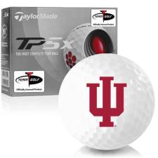 Taylor Made TP5x Indiana Hoosiers Golf Balls