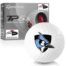 Taylor Made TP5x Johns Hopkins Blue Jays Golf Balls