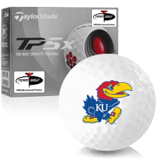Taylor Made TP5x Kansas Jayhawks Golf Balls