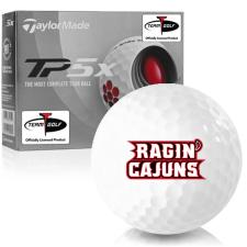 Taylor Made TP5x Louisiana Ragin' Cajuns Golf Balls