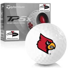 Taylor Made TP5x Louisville Cardinals Golf Balls