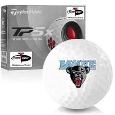 Taylor Made TP5x Maine Black Bears Golf Balls