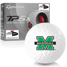 Taylor Made TP5x Marshall Thundering Herd Golf Balls