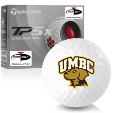 Taylor Made TP5x Maryland Baltimore County Retrievers Golf Balls