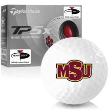 Taylor Made TP5x Midwestern State Mustangs Golf Balls