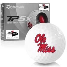 Taylor Made TP5x Ole Miss Rebels Golf Balls