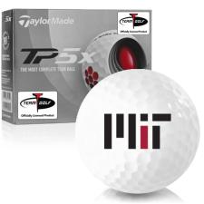 Taylor Made TP5x MIT - Massachusetts Institute of Technology Golf Balls