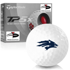 Taylor Made TP5x Nevada Wolfpack Golf Balls