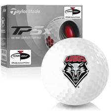 Taylor Made TP5x New Mexico Lobos Golf Balls