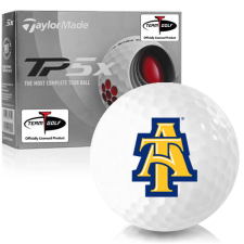 Taylor Made TP5x North Carolina A&T Aggies Golf Balls