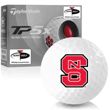 Taylor Made TP5x North Carolina State Wolfpack Golf Balls