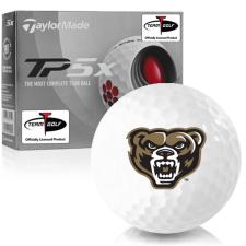 Taylor Made TP5x Oakland Golden Grizzlies Golf Balls