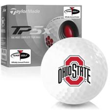 Taylor Made TP5x Ohio State Buckeyes Golf Balls