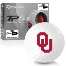 Taylor Made TP5x Oklahoma Sooners Golf Balls