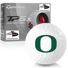 Taylor Made TP5x Oregon Ducks Golf Balls
