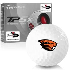 Taylor Made TP5x Oregon State Beavers Golf Balls