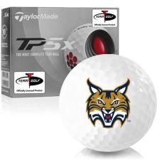 Taylor Made TP5x Quinnipiac Bobcats Golf Balls
