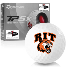 Taylor Made TP5x RIT - Rochester Institute of Technology Tigers Golf Balls